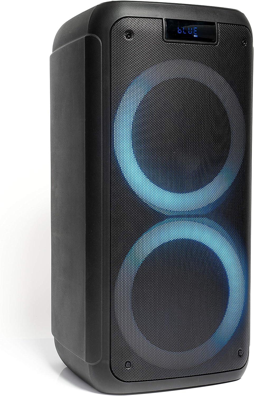FREESOUND400 - Ibiza - Altavoz Activo AUTONOMO 400W con Bluetooth, USB, Micro-SD Y Mando A Distancia
