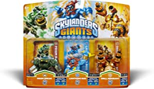Skylanders Giants Triple Pack 5 - Prism Break (S2) / Lightning Rod (S2) / Drill Sergeant (S2)