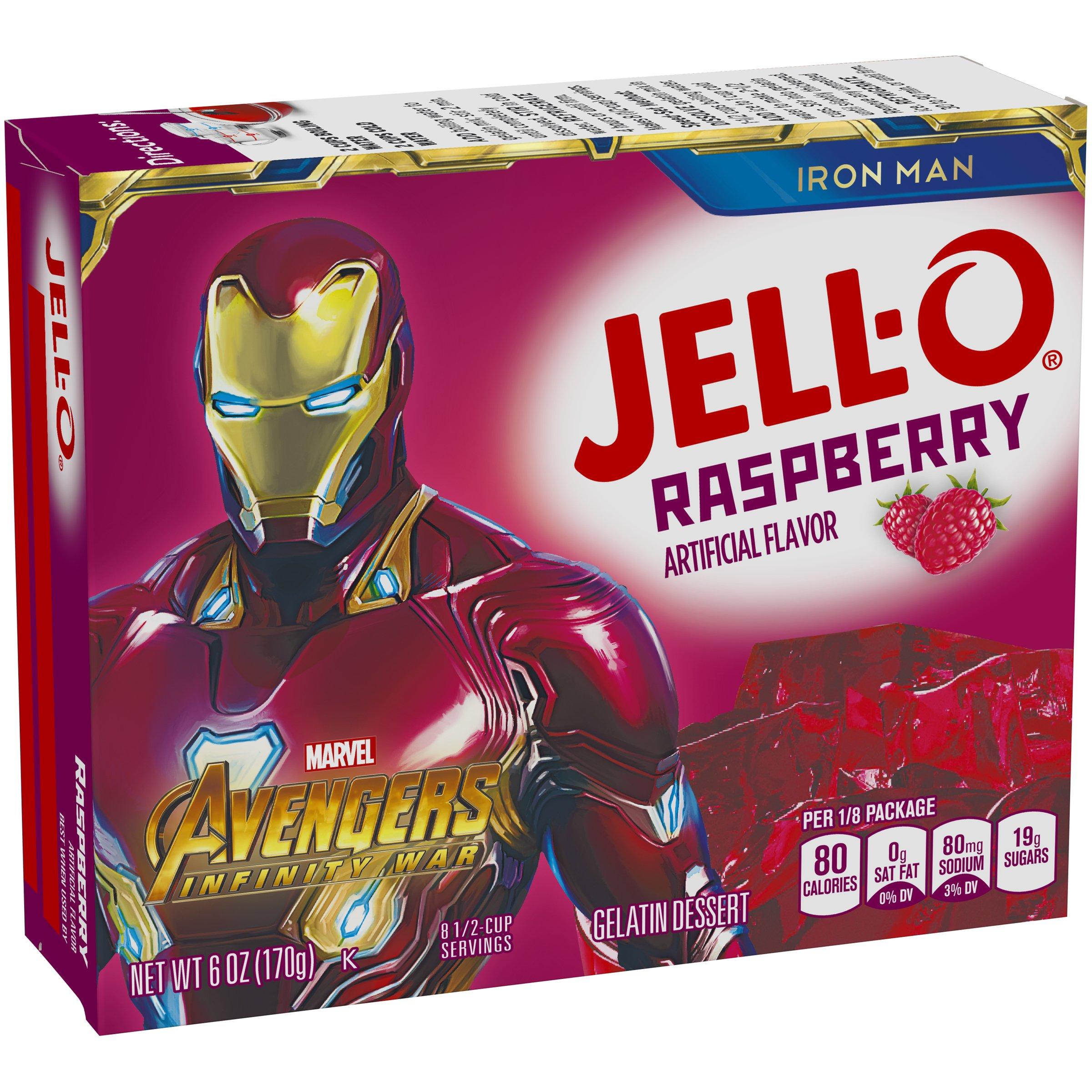 Jell-O Raspberry Gelatin Dessert Mix, 6 oz Box by Jell-O (Image #4)