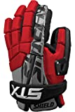 STX Lacrosse Shield Goalie Glove, Red, 12-Inch
