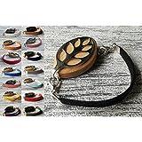 Faux Suede Bracelet - Bellabeat Leaf