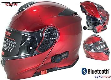 CASCO MOTO MODULAR VCAN V271 BLUETOOTH INCASCO MOTO MODULAR VCAN V271 BLUETOOTH INTEGRADO ECE HOMOLOGADO INTEGRAL