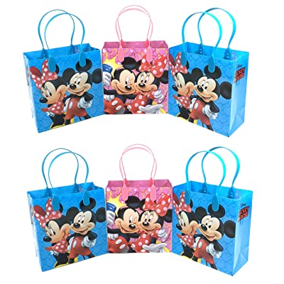 24PC DISNEY MICKEY MINNIE MOUSE GOODIE BAGS PARTY FAVOR BAGS GIFT BAGS: Sports & Outdoors