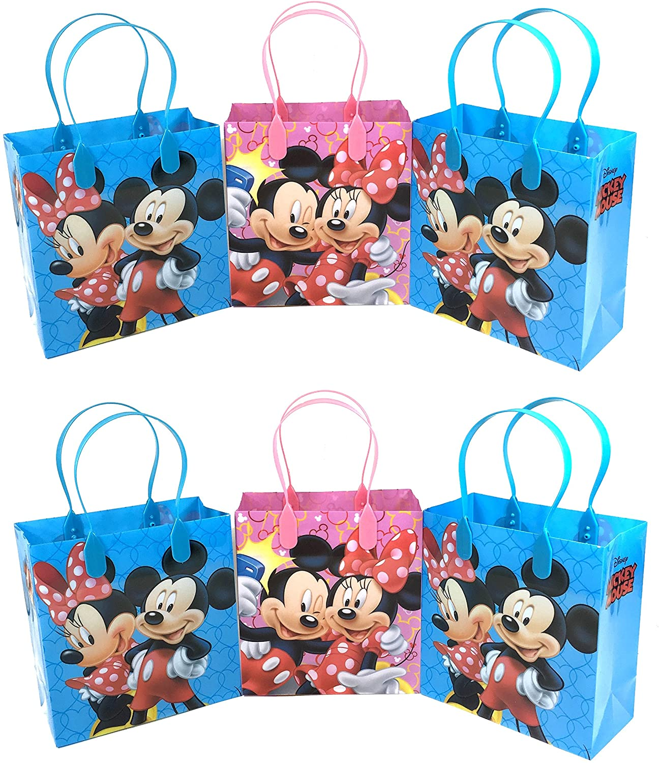 16 Count Minnie Mouse Bow-tique Party Favor Loot Bags