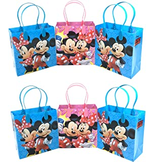 d66baeee06c 24PC DISNEY MICKEY MINNIE MOUSE GOODIE BAGS PARTY FAVOR BAGS GIFT BAGS