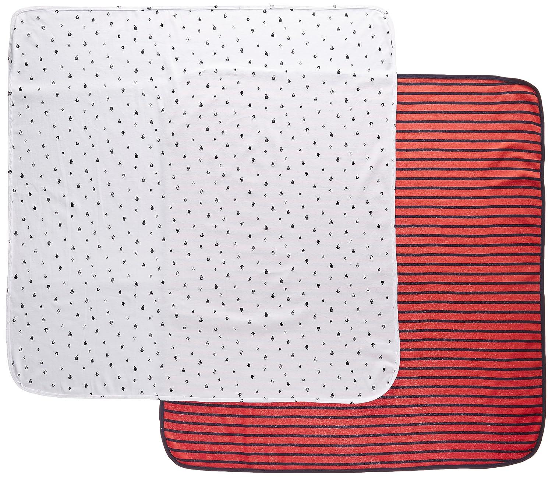 Amazon.com: Carter s 2 Pk Swaddle blankets- rojo y azul ...