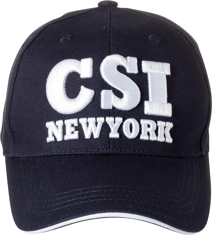 CSI White Embroidered /& Adjustable Cap Baseball Hat NEW