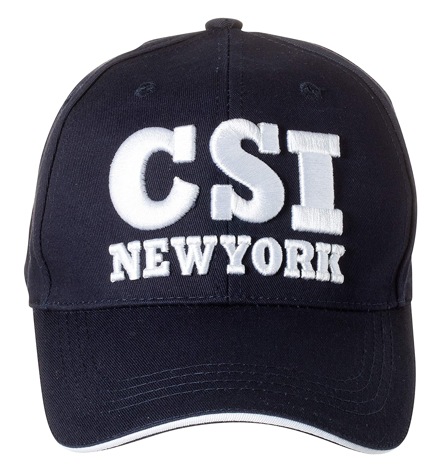 CSI Logo Law Enforcement Baseball Cap Hat Navy Blue Officially Licensed by NYC