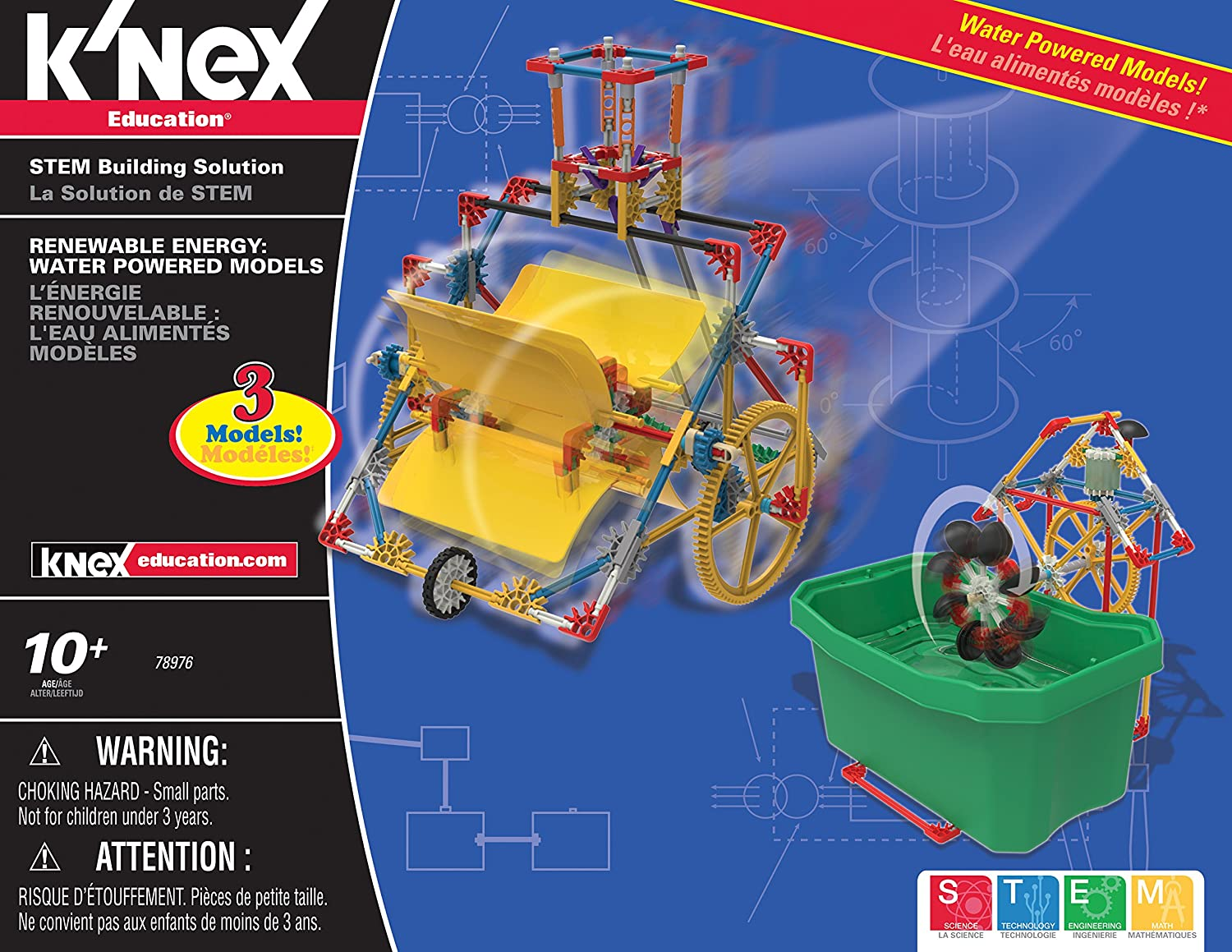 com k nex education renewable energy set pieces com k nex education renewable energy set 583 pieces ages 10 engineering educational toy toys games