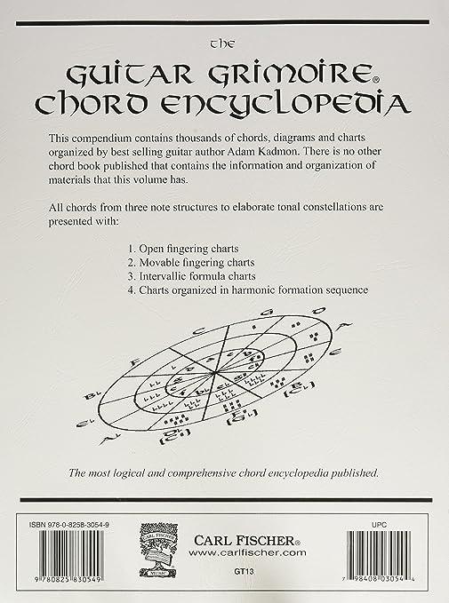 Amazon.com: Carl Fischer Guitar Grimoire Chord Encyclopedia Book ...
