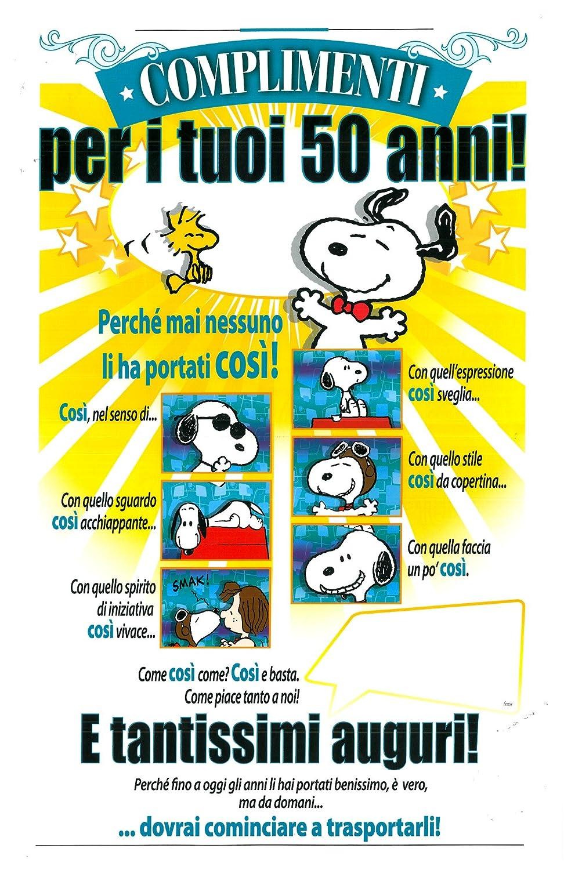 Biglietto Auguri 18 Anni Snoopy Farmaciatesti