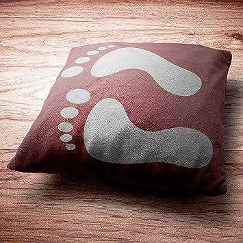 Ayak Izi Stencil Tasarımı 30 X 30 Cmboyama şablonuduvar Stencil