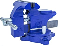 Yost LV-4 Home Vise, 4-Inch Bench Vise