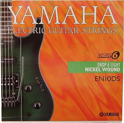 Yamaha EN-10 DS - Juego de cuerdas para guitarra eléctrica, 6 ...