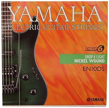 Yamaha EN-10 DS - Juego de cuerdas para guitarra eléctrica, 6 cuerdas: Amazon.es: Instrumentos musicales