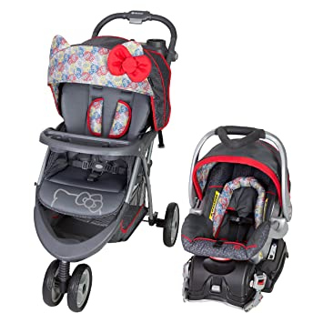Amazon.com   Baby Trend EZ Ride 5 Travel System, Hello Kitty Expressions    Baby e256481318