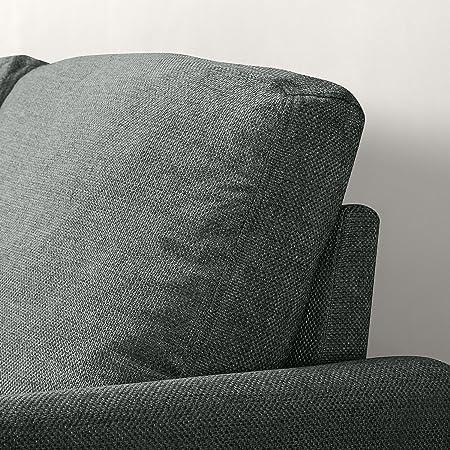 Amazon.com: Zinus Classic Sofá de dos asientos tapizado ...