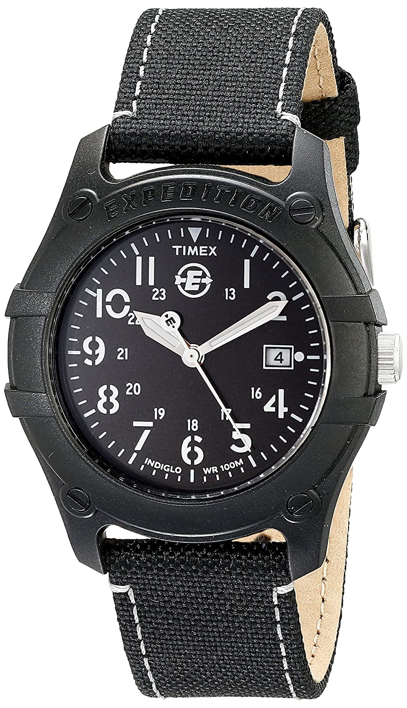 Timex T49689 - Reloj de cuarzo para hombres, color negro: Timex: Amazon.es: Relojes