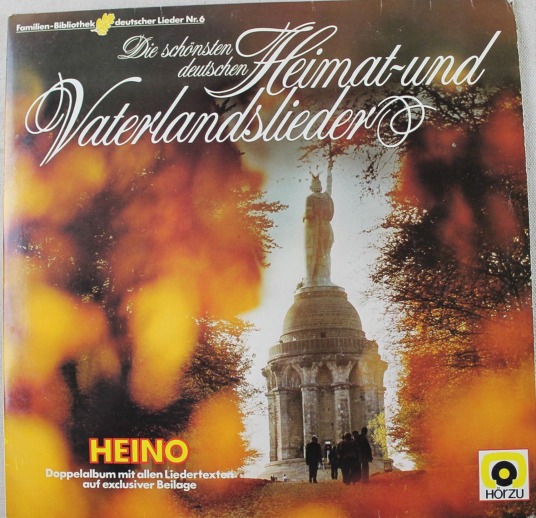 Heino Heino Die Schonsten Deutschen Heimat Und Vaterlandslieder 2x Lp Vinyl Set 1980 Germany Amazon Com Music