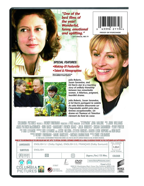 Stepmom [Reino Unido] [DVD]: Amazon.es: Cine y Series TV