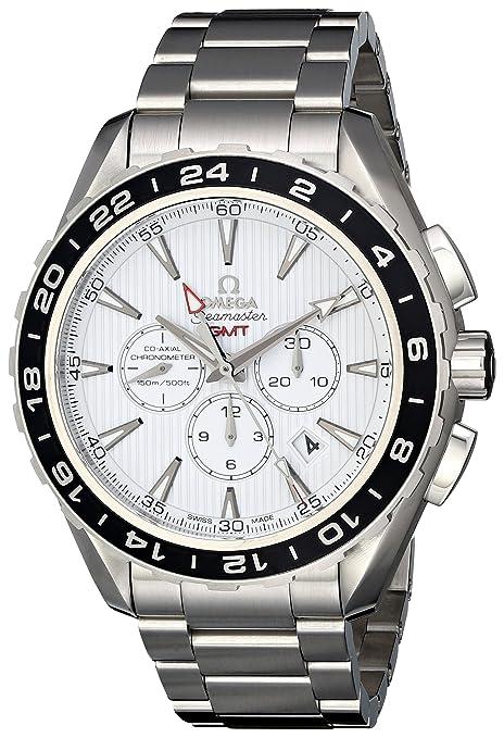 Omega Seamaster Aqua Terra GMT 231.10.44.52.04.001 Steel Automatic Men's Watch