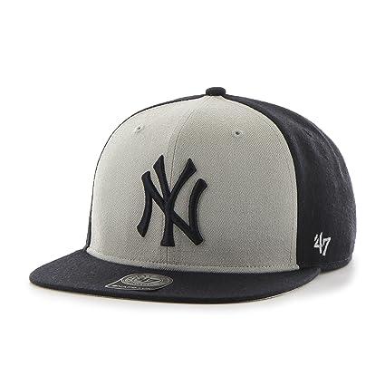 47 MLB New York Yankees Sure Shot Accent Captain Adjustable Snapback Hat 1c3a86c2356d