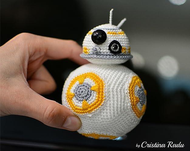 Plüsch Bb8 Roboter Spielzeug Star Wars Maskottchen Häkeln Droid