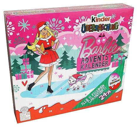 Calendrier Avent Barbie.Kinder Surprise Calendrier De L Avent Barbie 480g Avec 24