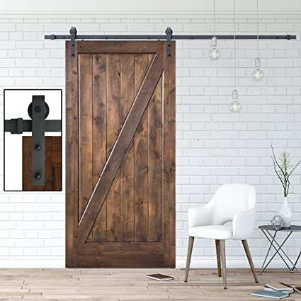 Amazon 8 Foot Interior Sliding Barn Door Hardware Kit
