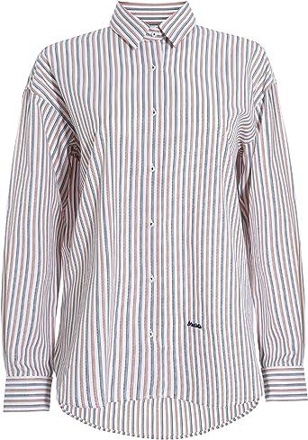 Brava Fabrics - Blusa de Mujer - Blusas de Mujer Elegantes - Blusa para Mujer - 100% Algodón - Modelo Wild Zebra: Amazon.es: Ropa y accesorios