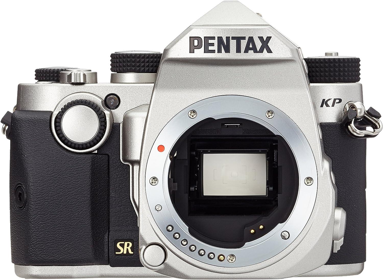 Cámara Pentax KP cuerpo, color plata