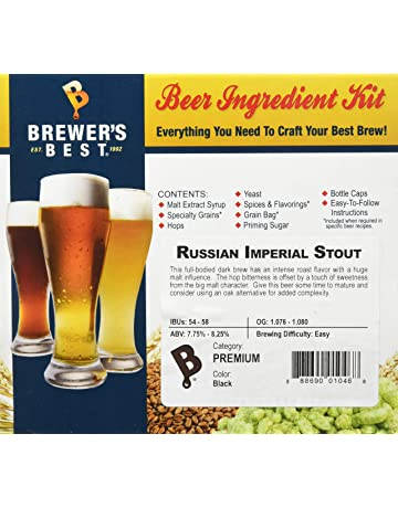 Amazon ca: Home Brewing Starter Sets: Home & Kitchen