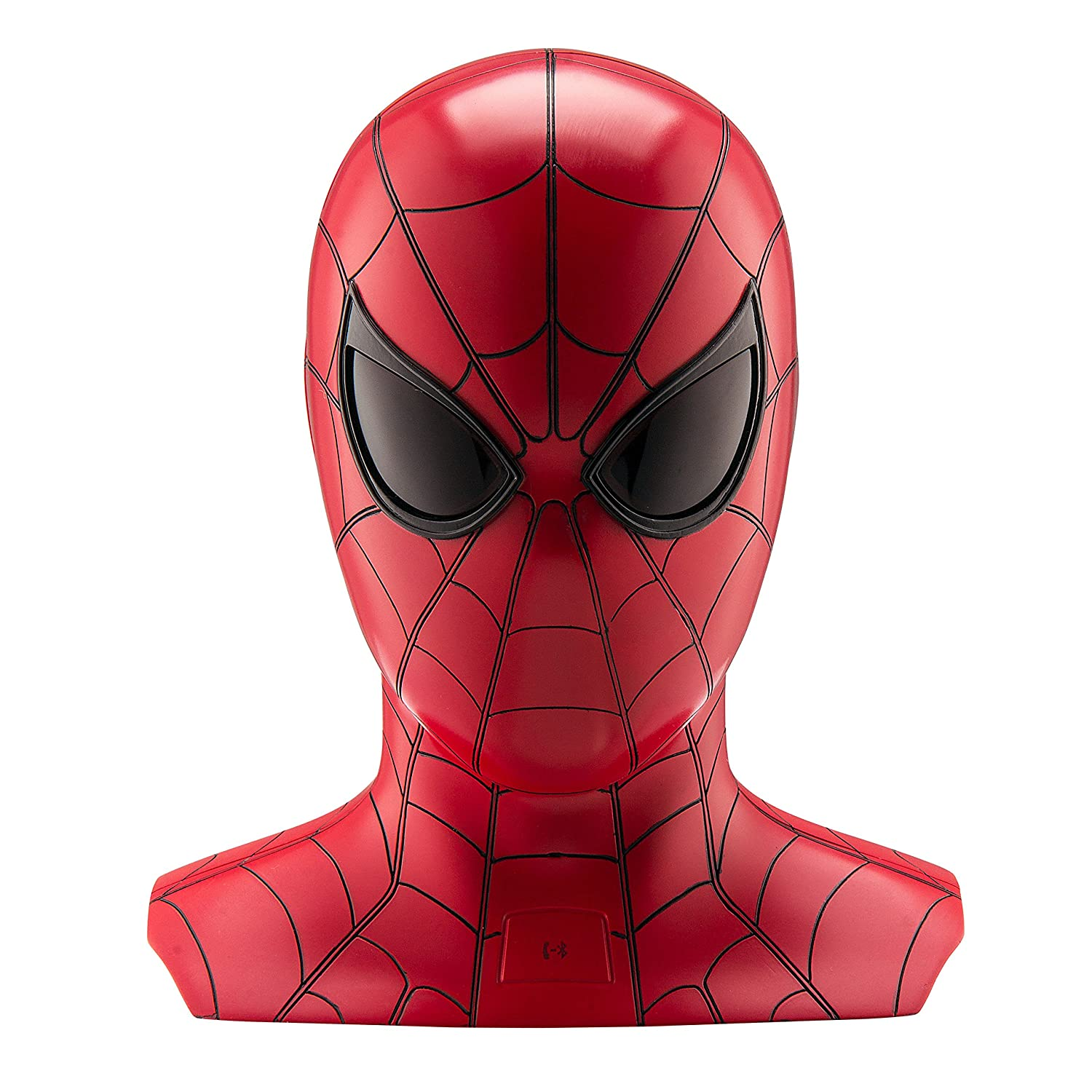 The新しいSpider Manスピーカー – Real Sculpted 1 : 2スケールSpiderman Bluetoothスピーカー、Marvel iHomeスピーカーwith Animated Eyes B0725S4FLQ