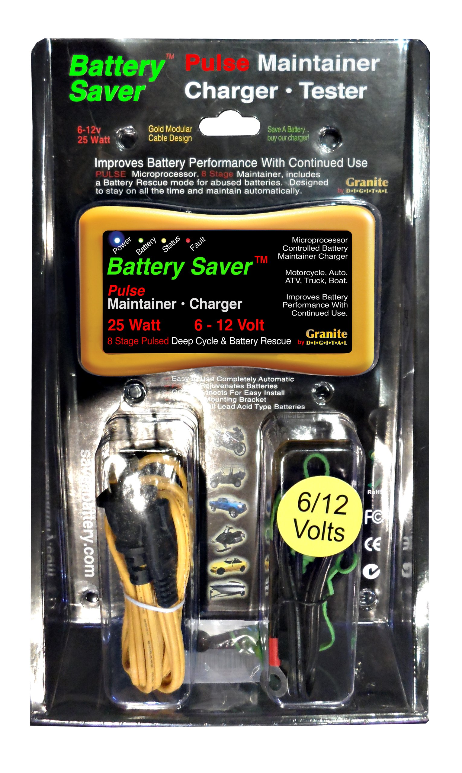 Save A Battery 3015 12 Volt/25 Watt Battery Saver/Maintainer and Battery Rescue by Battery Saver (Image #10)