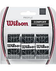 Wilson Overgrip Griffband, Profile Overgrip, 3 Stück, schwarz, WRZ4025BK