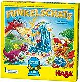 Haba Funkelschatz Brettspiel, Kinderspiel des Jahres 2018, Mitbringspiel für 2-4 Spieler ab 5 Jahren