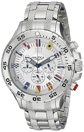 Nautica N20503G NST del Hombres Acero Inoxidable Reloj: Nautica: Amazon.es: Relojes