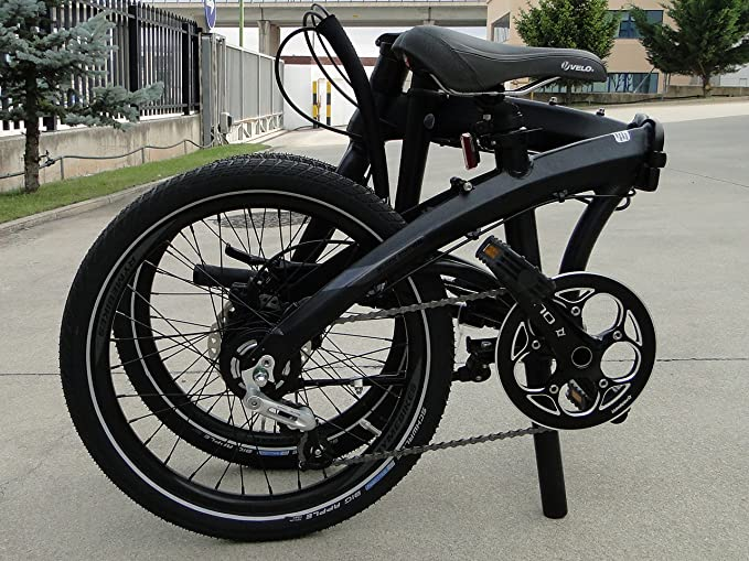 RYMEBIKES Bicicleta Plegable 20ŽŽ Black Edition: Amazon.es: Deportes y aire libre
