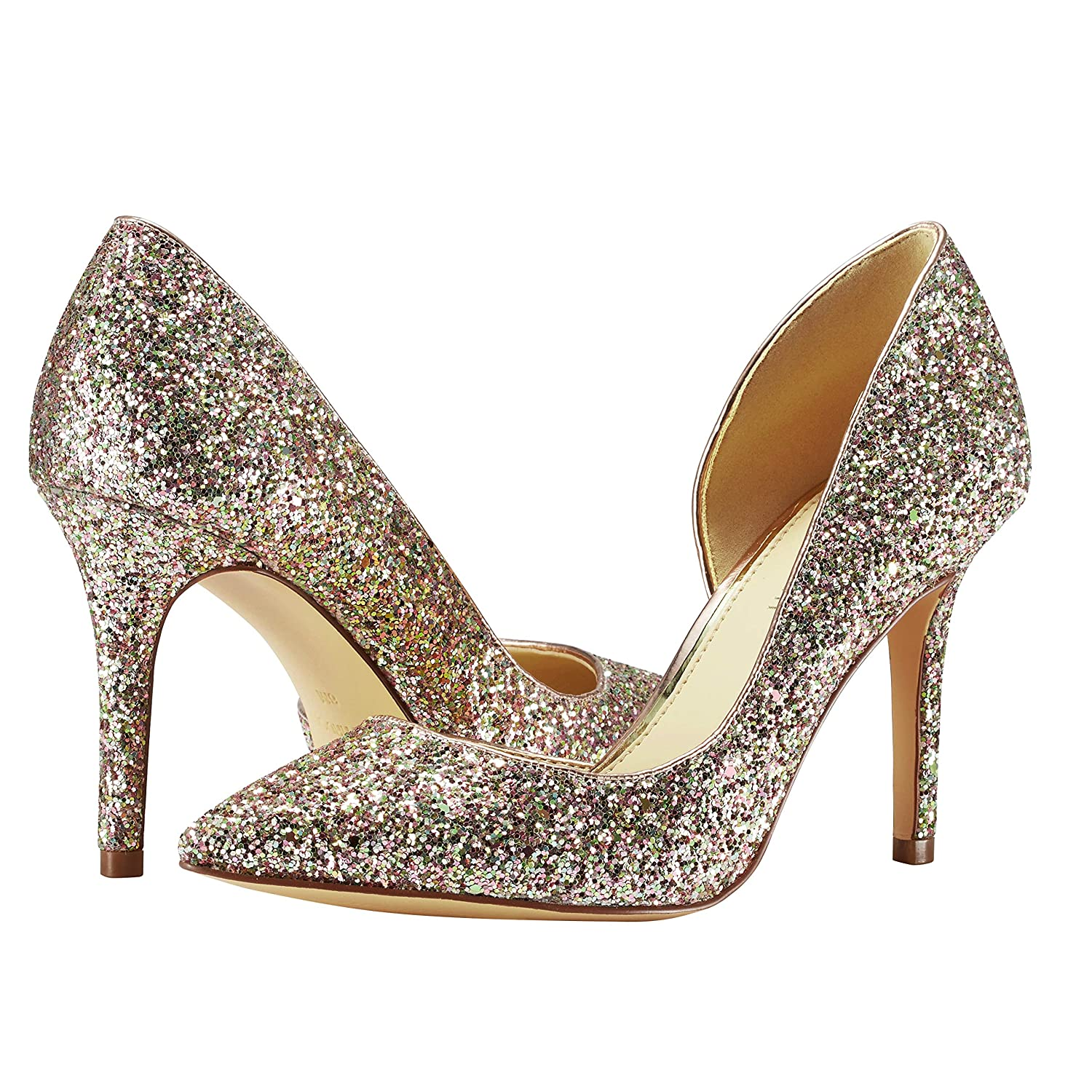 Details about  /JENN ARDOR Stiletto High Heel Pointed Closed Toe Slip On Dress Party Wedding Eve