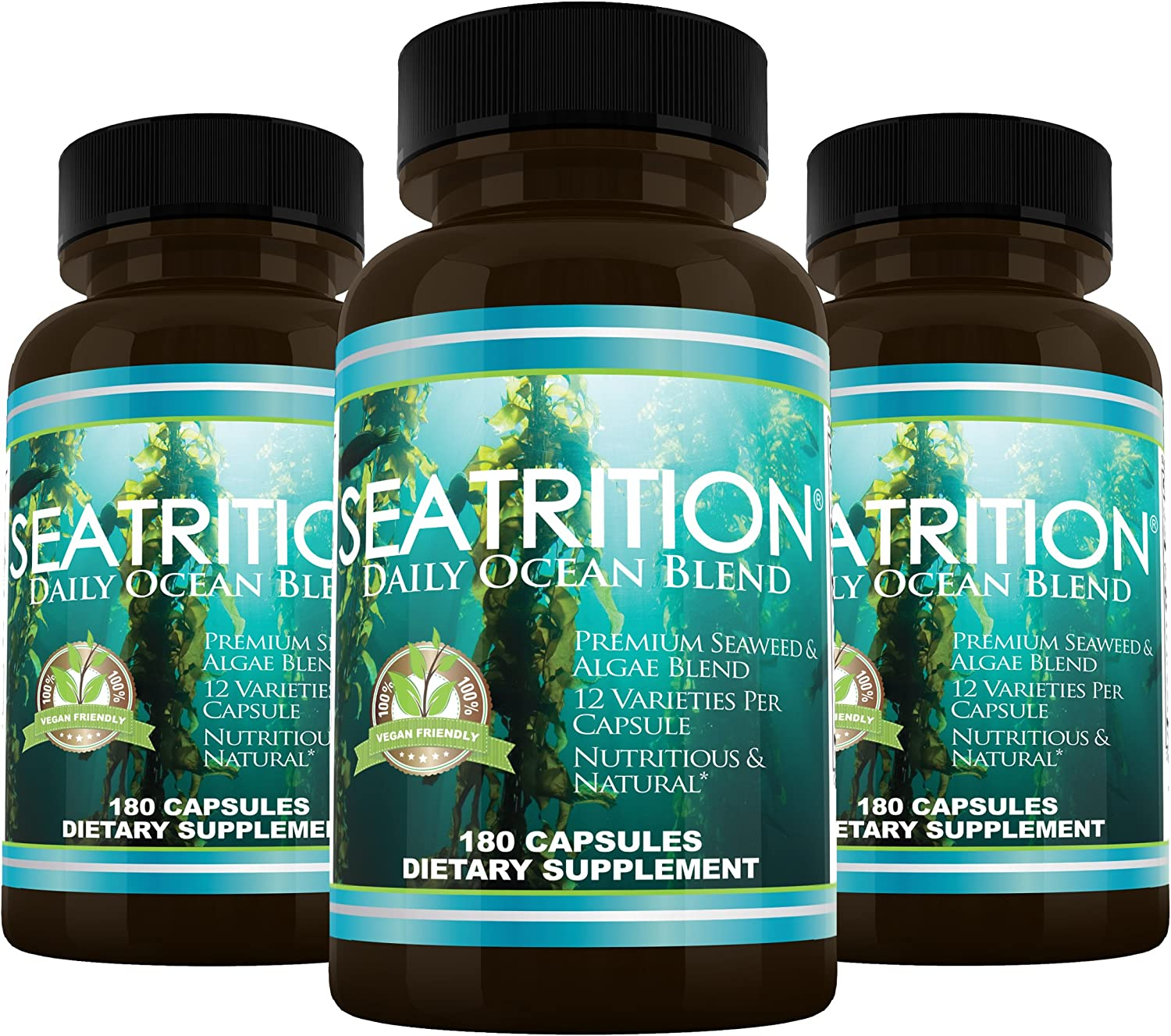 Daily Health, Seatrition 3 Bottle 540 Capsules