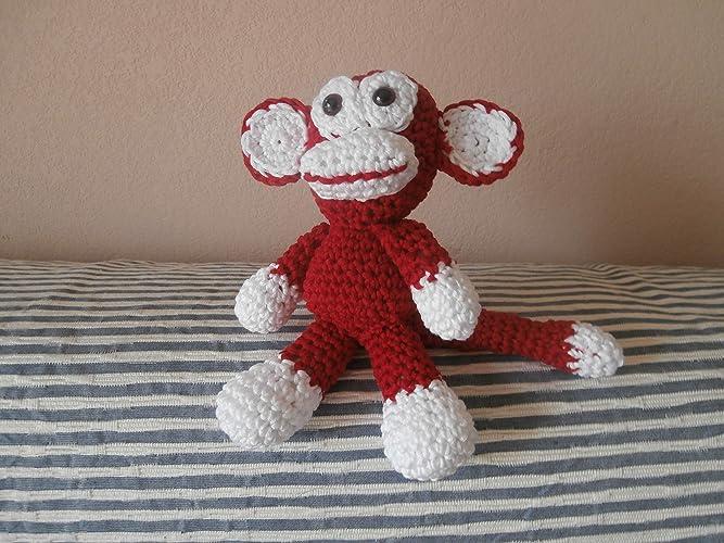 Kikou le singe doudou peluche jouet animal original déco chambre ...