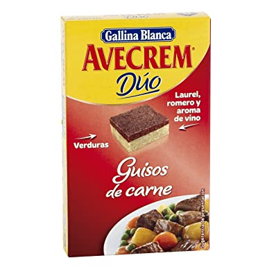 Avecrem Duo Guisos De Carne 8 Pastillas: Amazon.es: Alimentación y bebidas