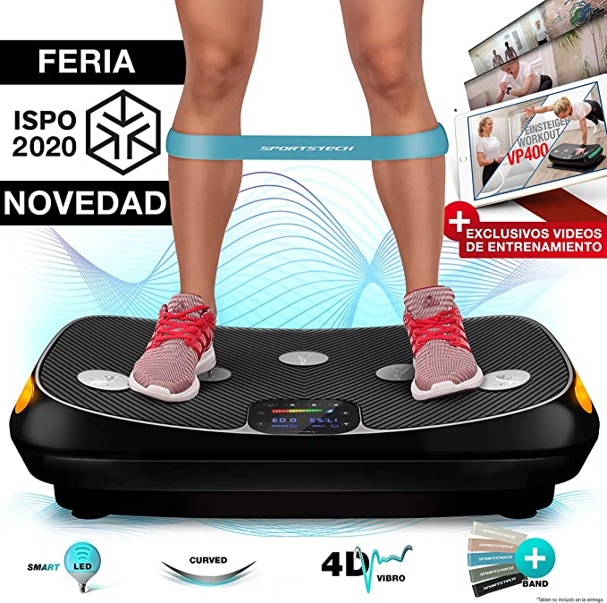Sportstech ¡Novedad Feria 2019! Plataforma vibratoria 4D VP400 ...