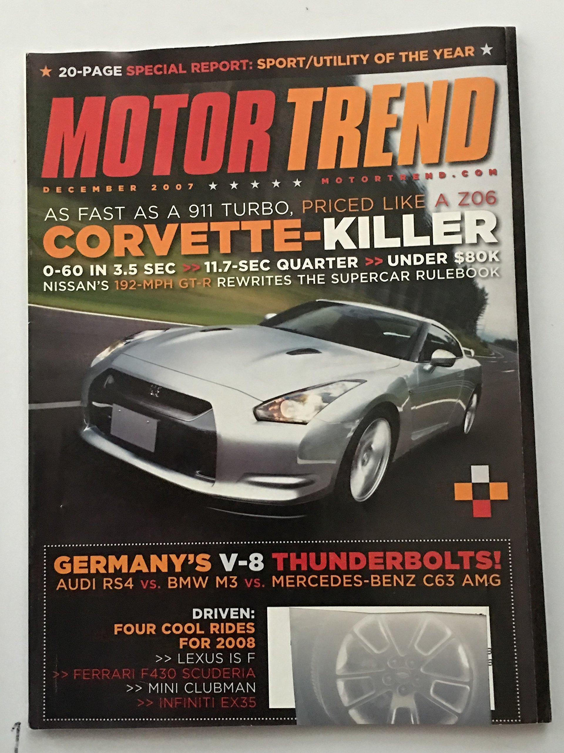 Motor Trend Magazine, December 2007 ebook