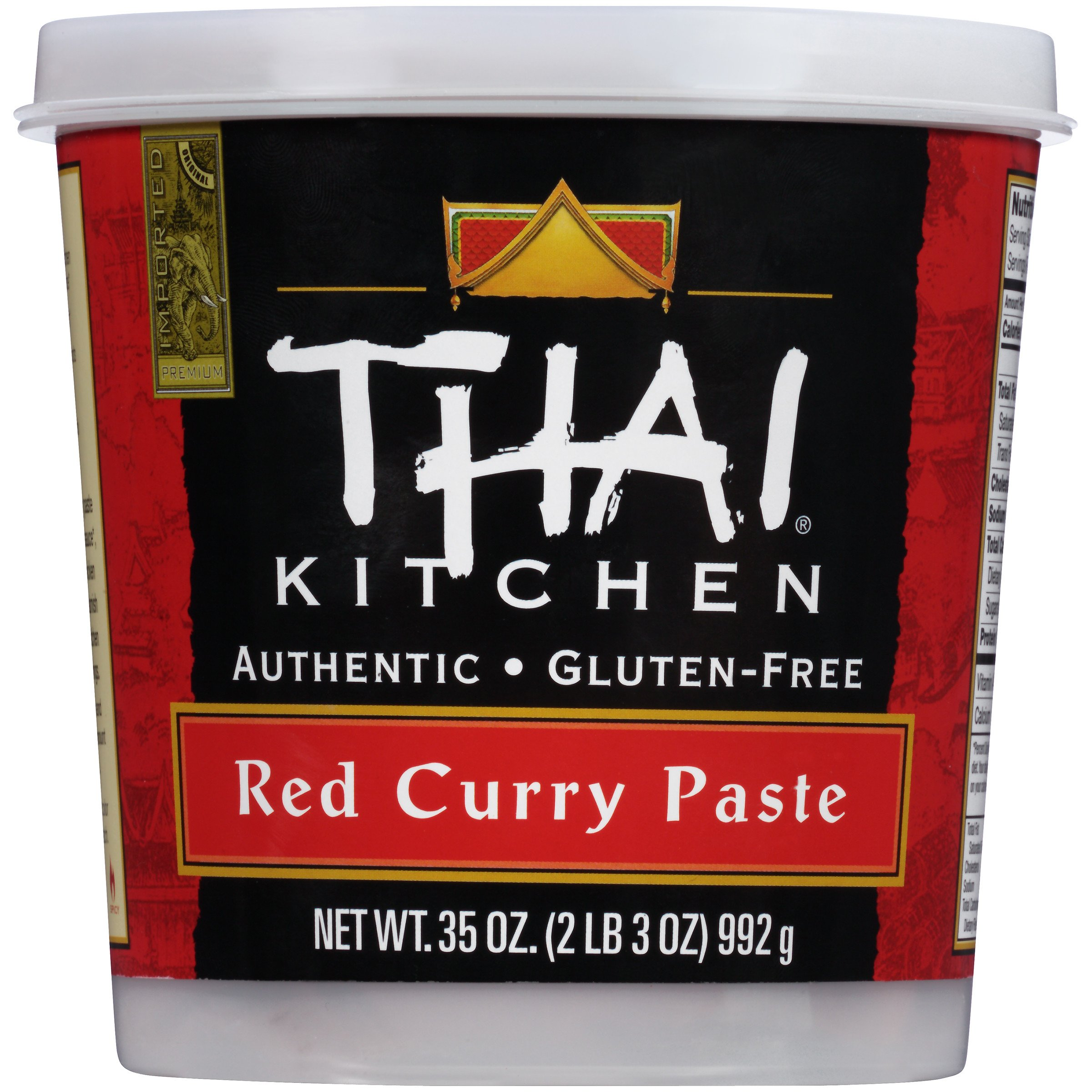 Amazon.com : Thai Kitchen Red Curry Paste, 4-Ounce Jars