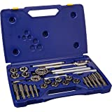 Irwin Industrial Tools 97606 Fractional Tap and Hex Die Set, 66-Piece