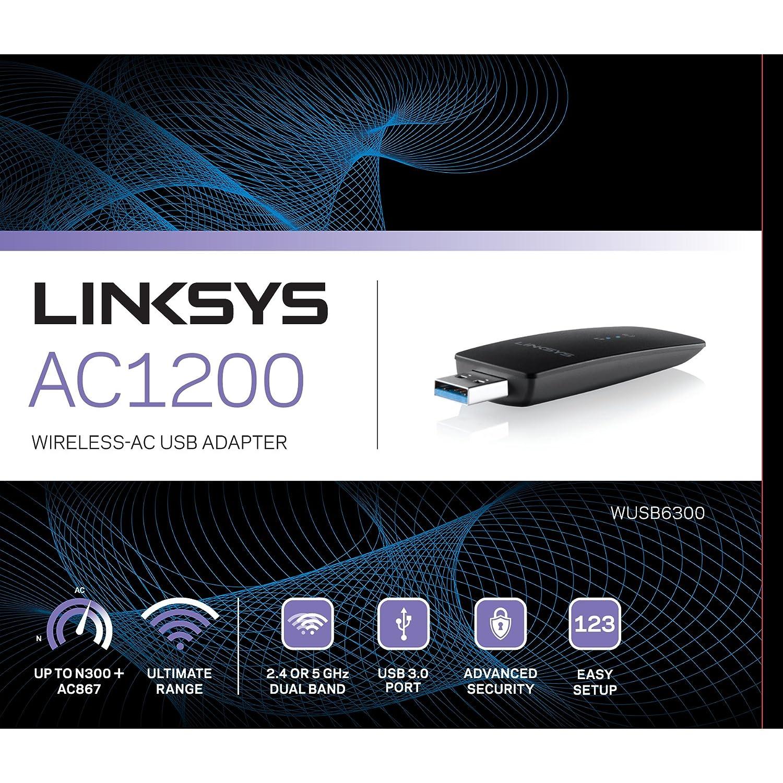 Adaptador WiFi USB Linksys AC1200 por sólo 4,97€