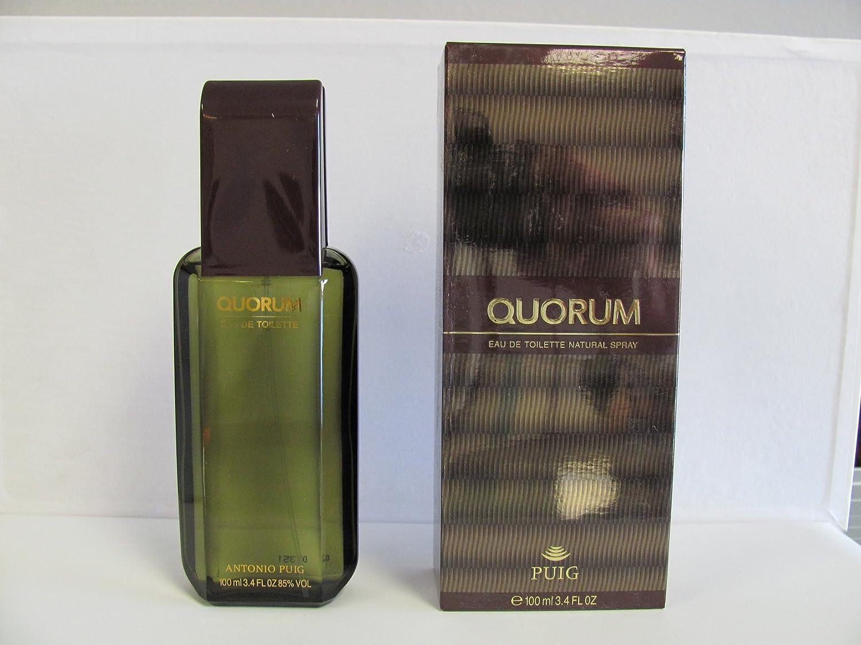Puig Quorum von antonio für herren. eau de toilette spray 3.4 oz 100 ml