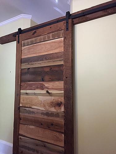 Amazon Barn Door Reclaimed Wood Horizontal Slat Design