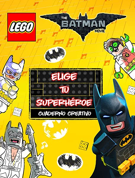 Lego Batman. Cuaderno creativo. Elige tu superhéroe: Amazon ...